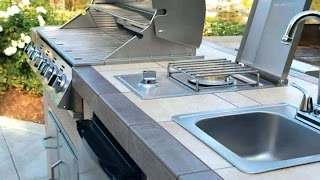 Weber Grill Outdoor Kitchen Cabinets Kettle