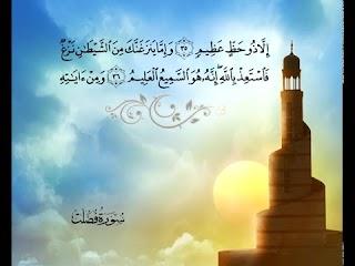 سورة فصلت  - الشيخ / محمد أيوب - ترجمة إنجليزية