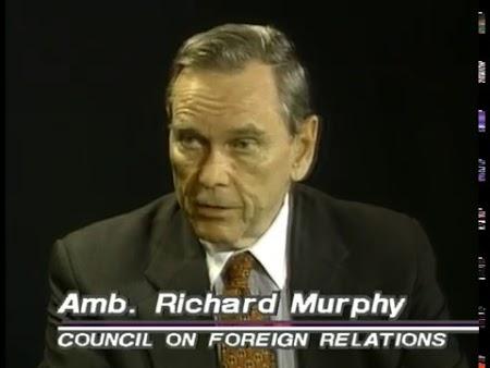 Richard W. Murphy and Ehud Olmert (Original Airdate 5/31/1998)