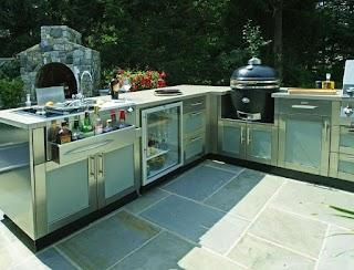 Bbq Outdoor Kitchen Designs 95 Cool Digsdigs
