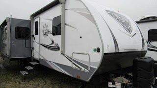 Bunkhouse Travel Trailers with Outdoor Kitchens 2019 Open Range Light 312bhs Trailer for Sale Ohio