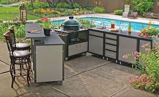 Outdoor Kitchen Cabinet Materials Pros and Cons of Different S