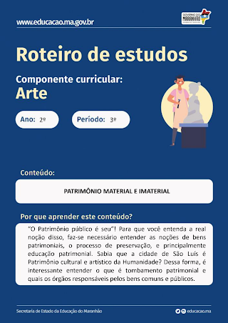 PATRIMÔNIO MATERIAL E IMATERIAL