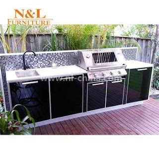 Buy Outdoor Kitchen Wholesale Bbq Barbecue Stainless Steel Cabinets