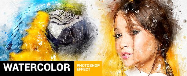 Watercolor Artist - Perfectum 2 - Photoshop Action - 11