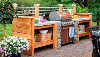 Affordable Outdoor Kitchen 31 Amazing Ideas Planted Well Doors