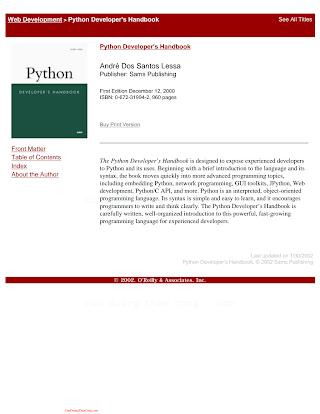Python Developer_s Handbook.pdf