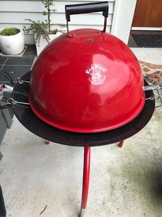 Red Devil Portable Outdoor Kitchen Bbq 47