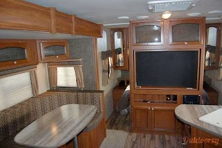 Bunkhouse with Outdoor Kitchen 2015 Heartland North Trail Trailer Rental in Tomball Tx Sy