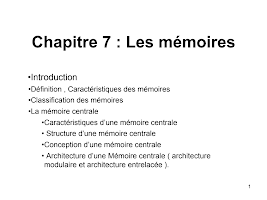 chapitre 7 memoires.ppt