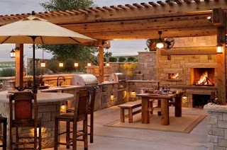 Cost of an Outdoor Kitchen Top 15 Designs D Their S