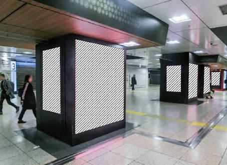 東京中央通路 電照デジタルシートセット
