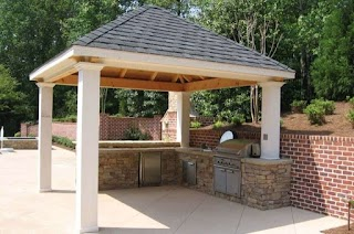 Outdoor Kitchen Roof Ideas Covered with in 2019 Future House on Water