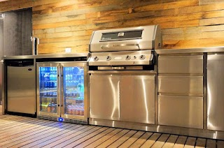 Second Hand Outdoor Kitchen S Stainless Steel Bbqs Alfresco Areas Ph 08