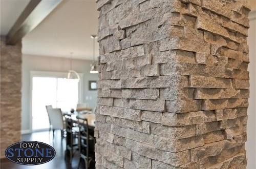 Eldorado Cottonwood European Ledgestone Column 004