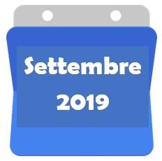 Settembre 2019