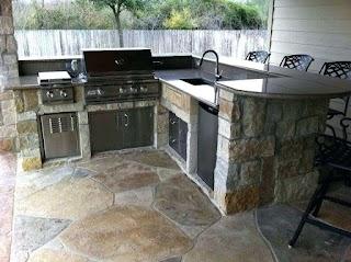 Outdoor Kitchen Reviews Appliances Bbq Island Ideas Best Material