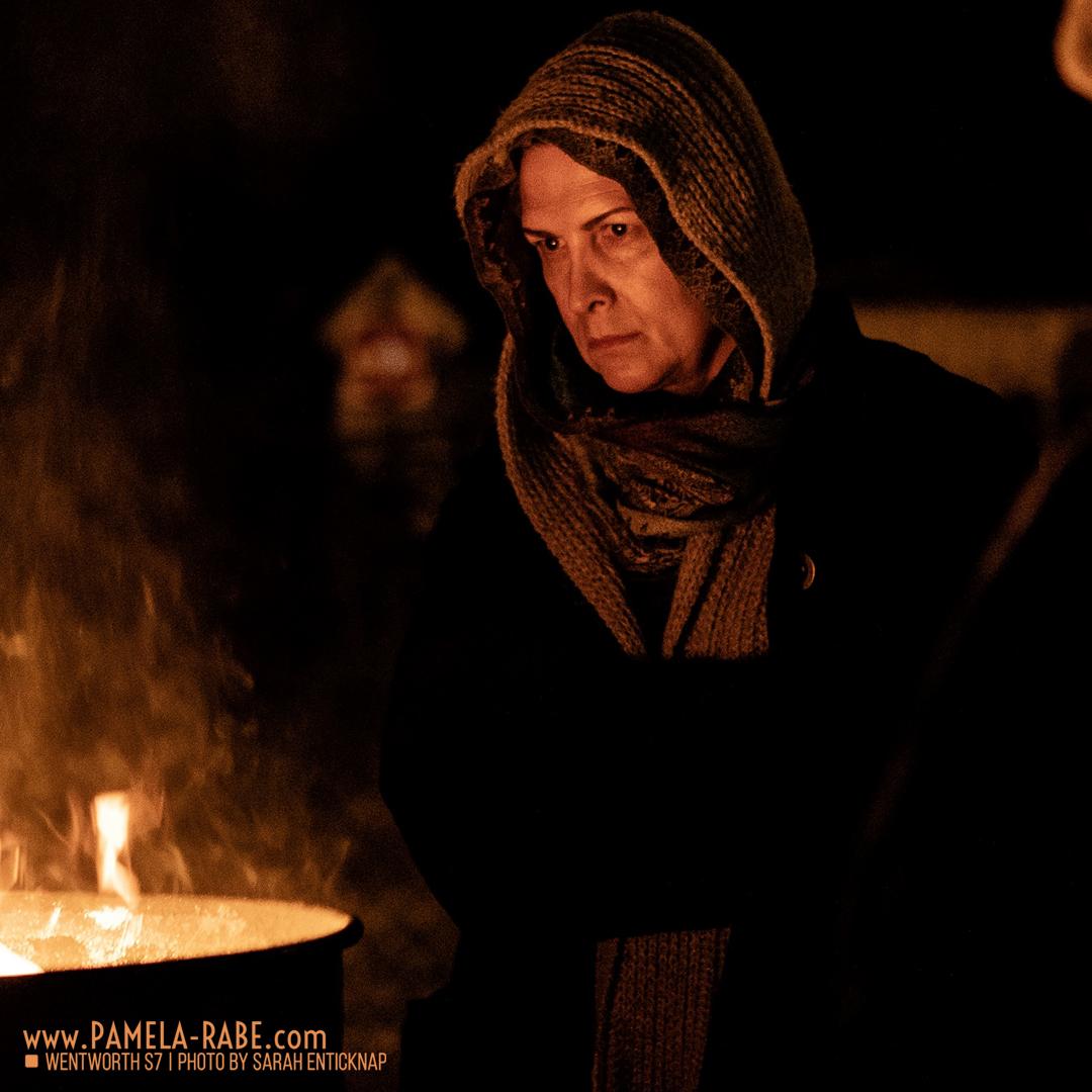 Pamela Rabe is back as Joan Ferguson in Wentworth Season 8
