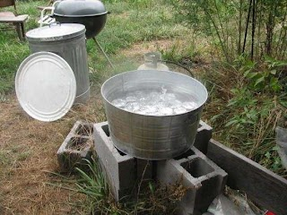 Outdoor Canning Kitchen The Homesteading and Livestock Mother