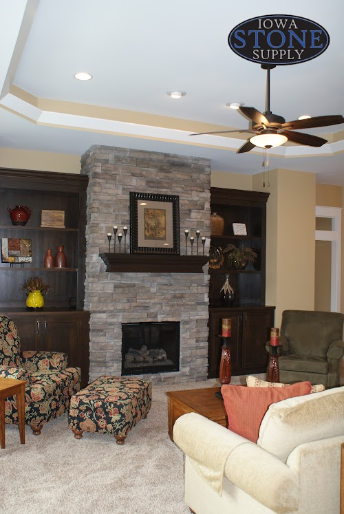 Eldorado Silverton Mountain Ledge Panels Fireplace 002