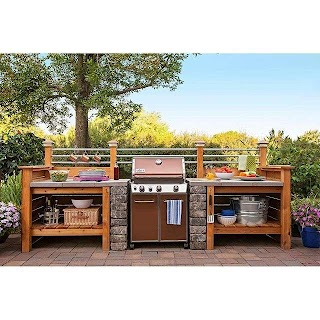 Lowes Outdoor Kitchen Designs Homeimprovement Get The Look of an Expensive