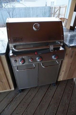 Weber Grill Outdoor Kitchen Genesis E330 Built in Lanai Ideas