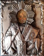 "Icoana ""Sf. Nicolae"" ferecata"