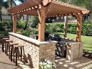 Outdoor Kitchen Designs with Pergolas Pergola Ideas for Your