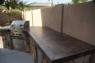 Outdoor Kitchen Countertops Landscaping Network