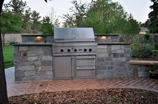Outdoor Kitchen Denver S Castle Rock Co Browne Associates