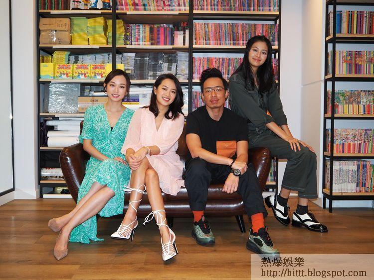 (左起)杰寧、Hailey、強尼與Amy均希望《萬遊攻略》能開第二季。