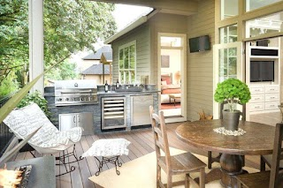 Compact Outdoor Kitchen Small Mudhensinfo