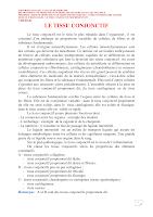 Polycopié Tissu Conjonctif (2017-2018).pdf
