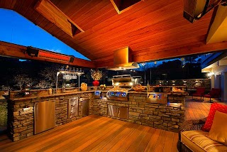 Outdoor Kitchen Denver Colorado Springs Transitional Deck By