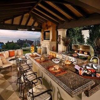 Amazing Outdoor Kitchens 30 Fascinating Patios Pools Gazebos