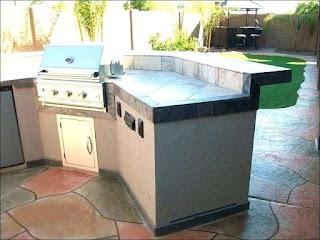 Outdoor Kitchen Modular Frame Kits Grill Island Prefab DIY Dynando