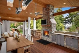 Outdoor Kitchen Area 95 Cool Designs Digsdigs