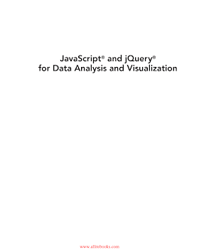 JavaScript and jQuery for Data Analysis and Visualization.pdf