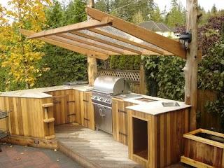 Unique Outdoor Kitchens 95 Cool Kitchen Designs Digsdigs