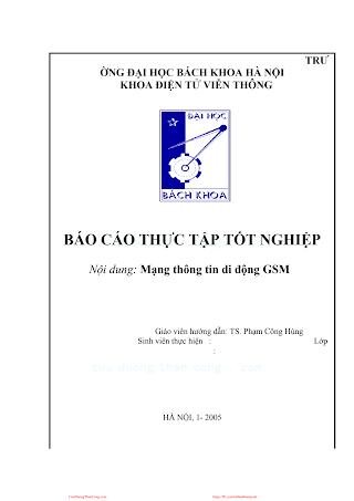 LVDA.Mạng Thông Tin Di Động GSM - Gv. Phạm Công Hùng, 42 Trang.pdf