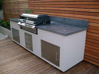 Outdoor Kitchen Bbq Melbourne Gallery Concrete Benchtops Benchmark Benchtops