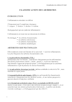 03-CLASSIFICATION DES ARTHRITES.cours Taleb.pdf