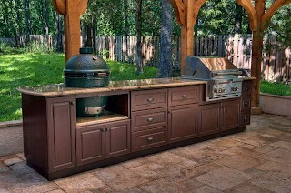 Outdoor Kitchen Cabinets Select Custom Traditional Patio Other