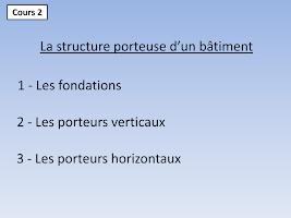 La structure porteuse d'un bâtiment.pdf