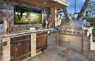 Built in Outdoor Kitchen 21 Sanely Clever Design Ideas for Your Pool