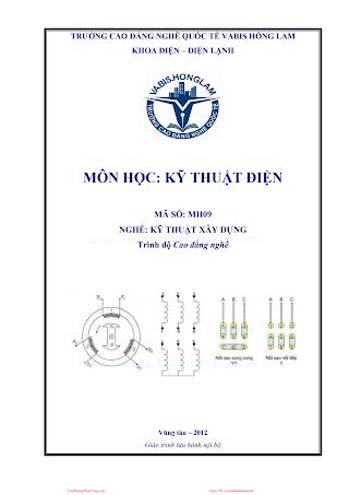 Kỹ Thuật Điện - Lê Viết Thành, 109 Trang.pdf