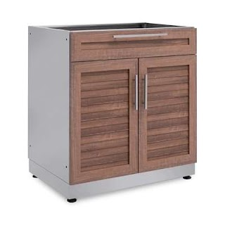 Outdoor Kitchen Cabinets Lowes Newage Products Bar Cabinet Canada
