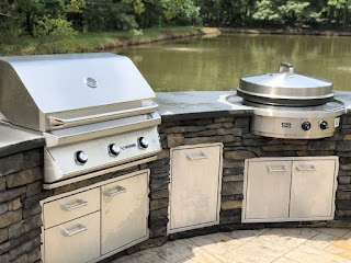 Built in Grills for Outdoor Kitchens Charlotte Grill Company