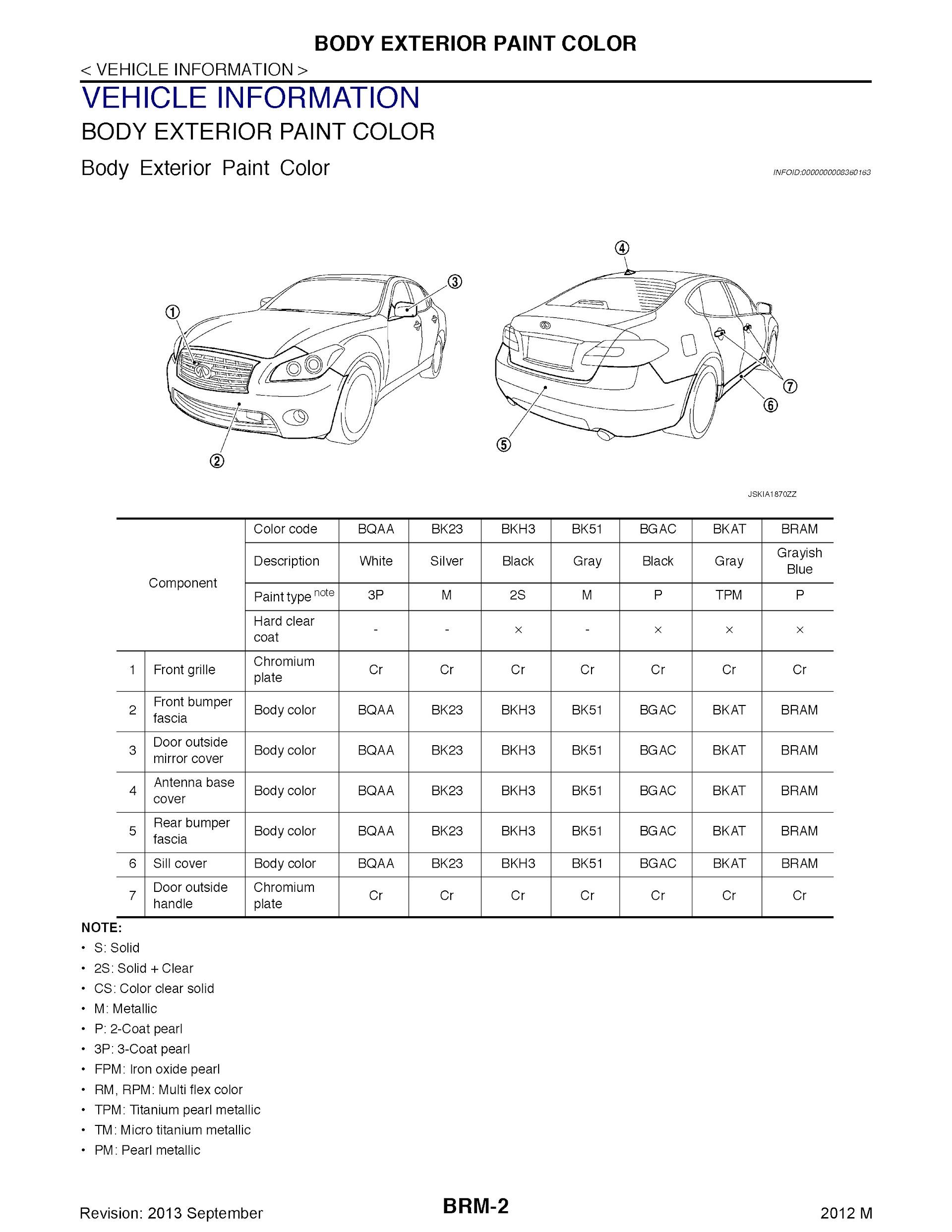 Download 2012 Infiniti M Series Repair Manual