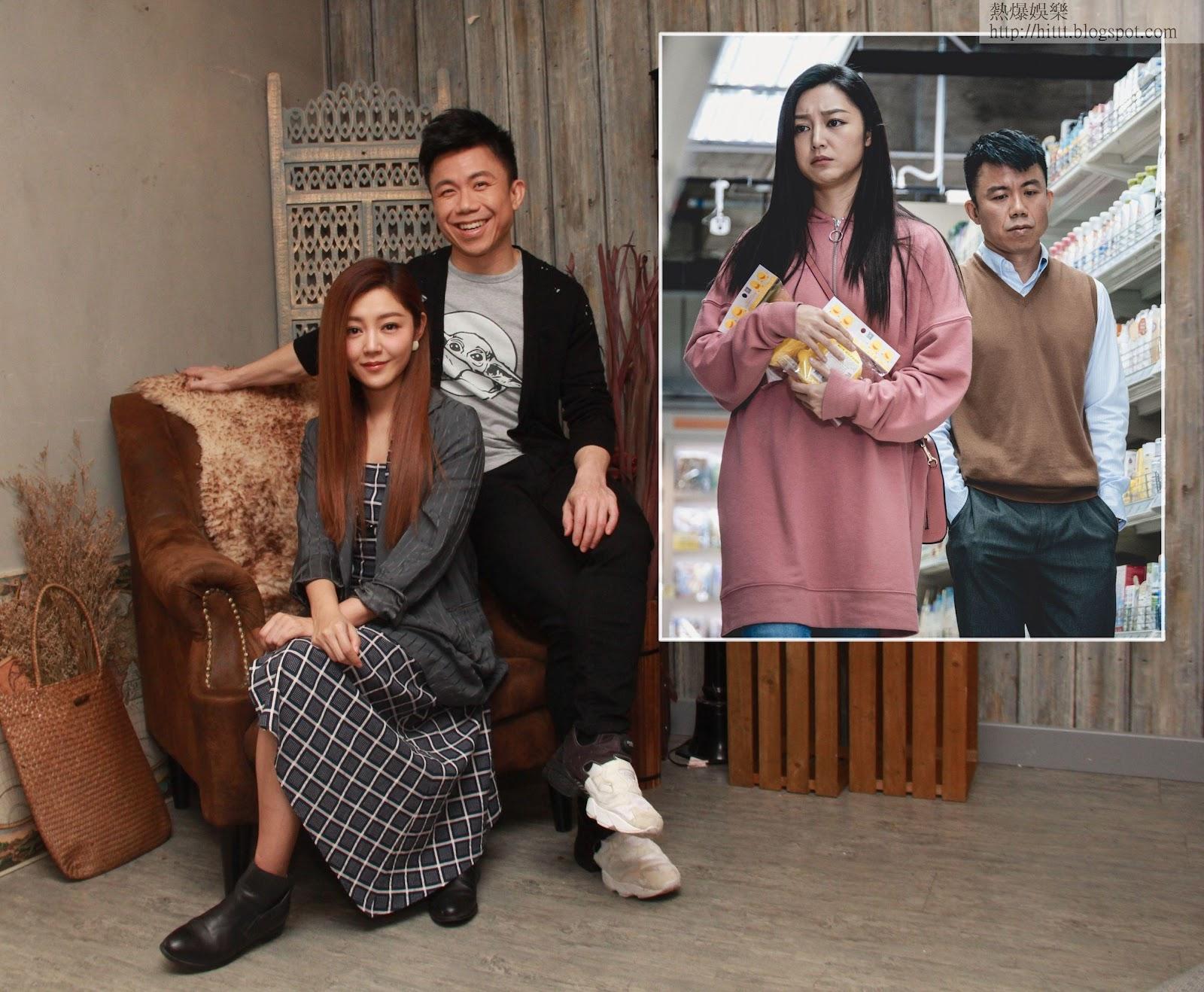 詩雅和Hanjin在ViuTV新劇《歎息橋》中首度合作。